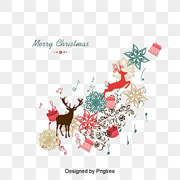 Joyeux Noël., Noël, Festival, CadeauPNG et PSD