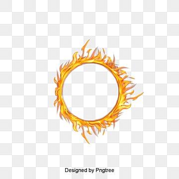 حلقة النار, النار, الدخان, خاتمPNG صورة