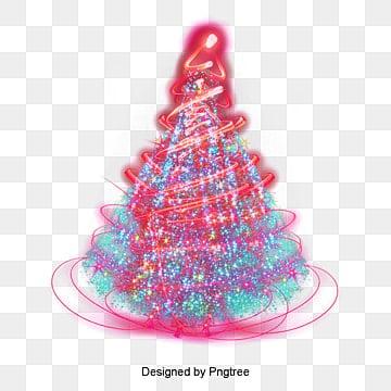 Рождественская елка, Рождественская елка, рождество, красочныйPNG и PSD