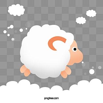 овец, овец, мультфильм, овецИзображение PNG