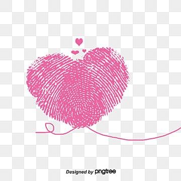 Fingerprint heart-shaped Valentine's Day, Fingerprint, Valentine's Day, Heart-shaped PNG and Vector