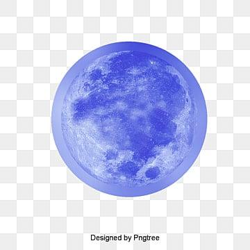 Les étoiles, La Lune, Bleu, GalaxiePNG et PSD