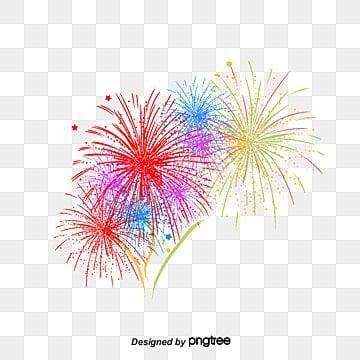 Fireworks Clipart #1126782 - Illustration by dero