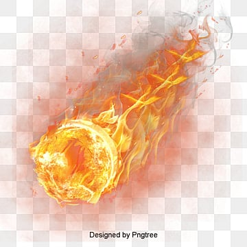 Fire Basketball, Light Effect, Combustion, Flames PNG and PSD