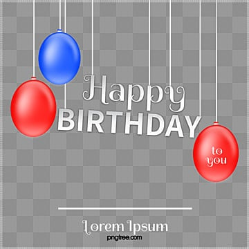 Happy happy birthday,birthday, Happy Birthday, Creative Birthday Poster, Birthday Present PNG Image