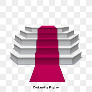 Stage Lighting Red Carpet AI Podium Light PNG And Vector