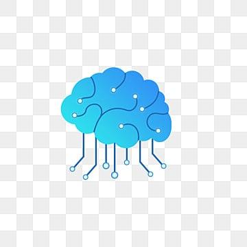 blue brain material picture, Brain Clipart, Brain Image, Creative Brain Image PNG Image and Clipart