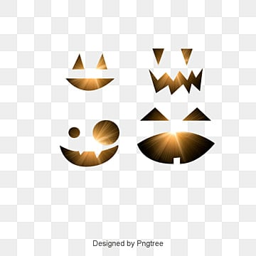 Vector Halloween Pumpkin Smiley Face, Creative Halloween, Calabaza Sonrisa, Símbolo  PNG y Vector