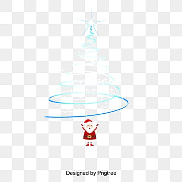 рождественский аура, рождественский аура, елки аура, СантаPNG и PSD