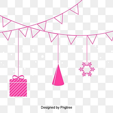 hand drawn cartoon birthday elements cartoon clipart birthday clipart gift png image