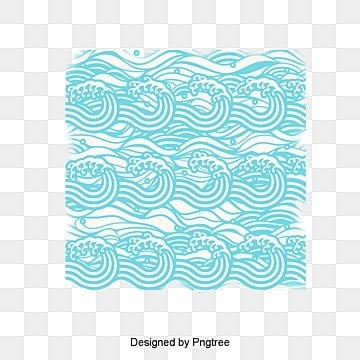 classical pattern vector waves, Japanese Pattern, Ad Elements, Spray PNG and PSD