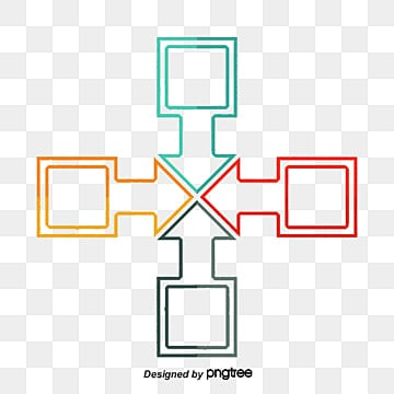 Rectangle with an arrow coupling patterns, Arrow, Rectangle, PPT Decorative Free Download PNG PNG and PSD