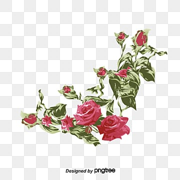 Rose Border Png Images Vectors And Psd Files Free