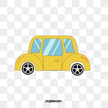 Single Cartoon car, Transportation, Car, Materialized PNG and Vector