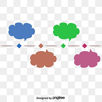 Timeline-up dialog PPT decorative pattern, Chart Free Download PNG, Blue Red, Green PNG and PSD