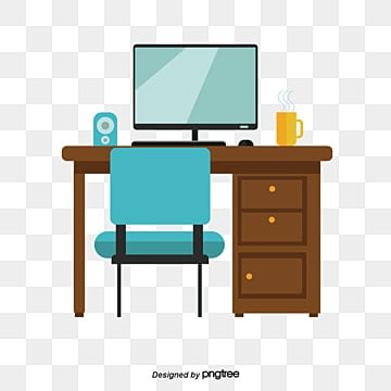 office furniture clipart. study office furniture, study, learn, png and vector furniture clipart