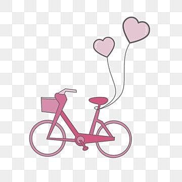 vintage bicycle, Bicycle, Beautiful, Flowers PNG Image