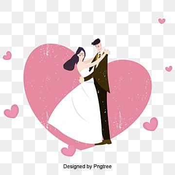 Le mariage des affiches de décoration, Mariage, Les Amants, RomantiquePNG et vecteur