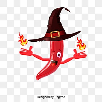 Red chili,fire,hat, Fire Pepper, Cartoon, Chili PNG and PSD