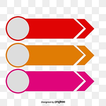 Circular and rectangular arrow PPT decorative pattern, Polygon Download Free PNG, PPT Decorative Material Transparent PNG, Decorative Summary PNG and PSD