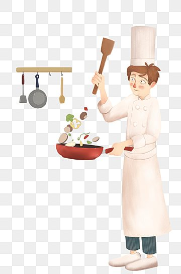 chef cook png  vector  psd  and clipart with transparent