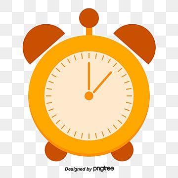 Yellow alarm clock Vector Png Alarm Clock PNG and Vector for