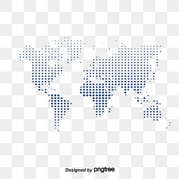 Dotted world map black dot vector png and vector for free download vector wave point map map polka dot world map png and vector gumiabroncs Images