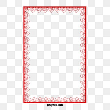 red frame png images vectors and psd files free download on pngtree