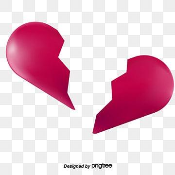 Le c ur bris triste dessin fichier png et psd pour le - Dessin de coeur brise ...