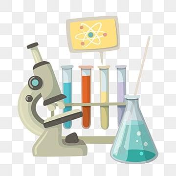 Mad Scientist Holding Vial Cartoon Vector Clipart - FriendlyStock
