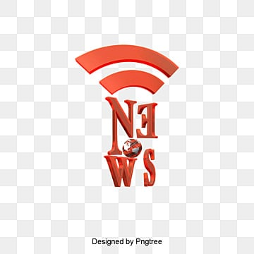 News logo, News Center, TV Station, Wireless PNG and PSD