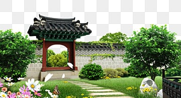 Garden Background PNG Images   Vector and PSD Files   Free
