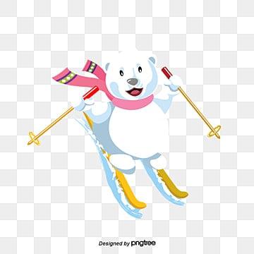 Výsledek obrázku pro skiing animation