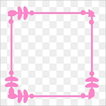 Pink Border Png Images Vectors And Psd Files Free