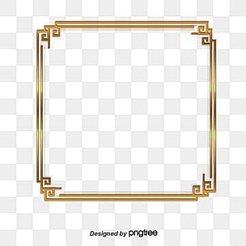f267c507da1d vector golden square frame