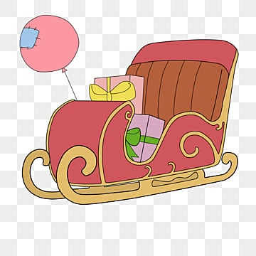 Sleigh clipart, Sleigh Transparent FREE for download on WebStockReview 2020