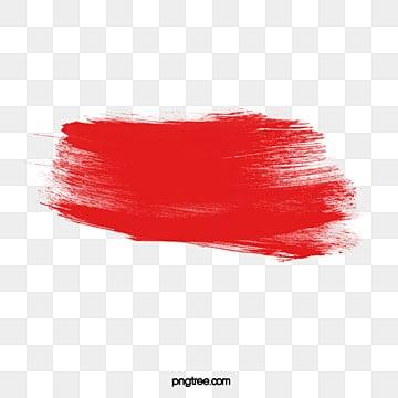 кисть красный узор, Щетка, Малярная кисть, красный PNG и PSD