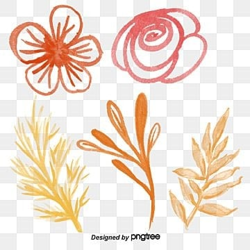 vector hand-painted watercolor leaves, Vector, Hand Painted, Watercolor PNG and Vector