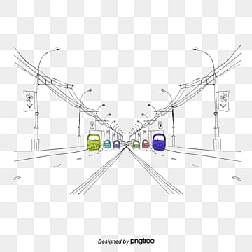 Urban scene, Scenes, City Streets, Car PNG and Vector