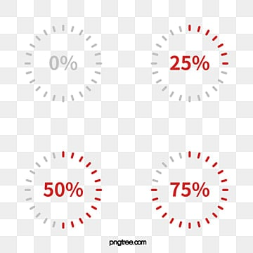 Circular Progress Bar PNG Images | Vector and PSD Files