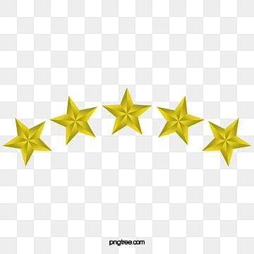 5 Star PNG Images | Vector and PSD Files | Free Download on