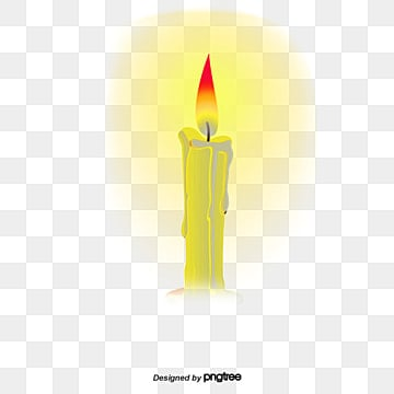 Candle Burning Clipart
