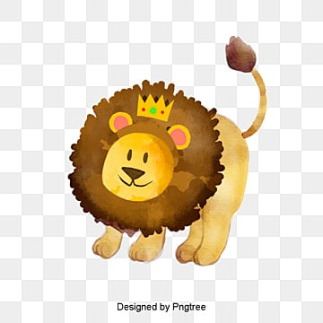 vector lion material, Lion Clipart, Vector Material, Lion PNG and PSD