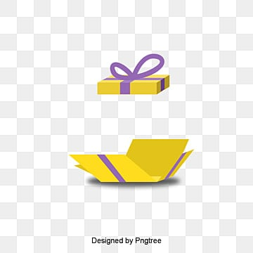 Open the gift box, Gift Box, Open The Gift Box, Tied Flower Gift Box PNG and PSD