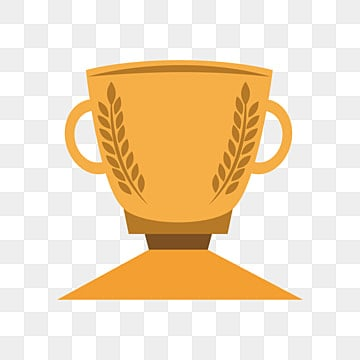 Gold trophy png