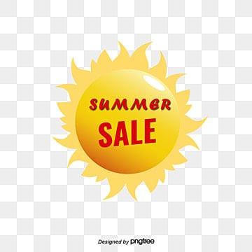 Vector Yellow Stereo Sun Summer, Vector Sun Summer, Yellow Sun Summer, Three-dimensional Sun PNG and Vector