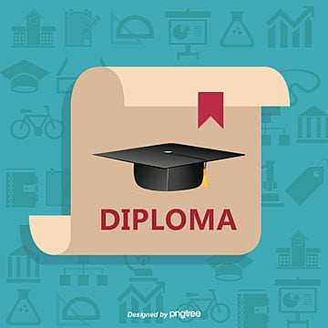 graduation certificate picture, Education, Dr. Hat, Diploma PNG and Vector