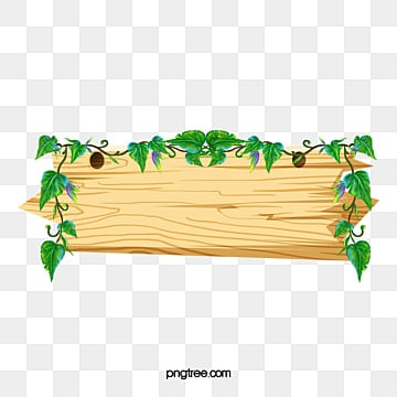 Solid Wood Border Clipart Cartoon PNG Image And