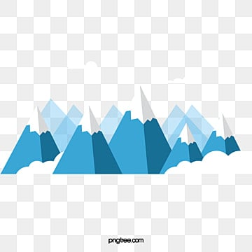 Rolling snow mountain vector, Steeple, White Clouds, Snow Top PNG and Vector
