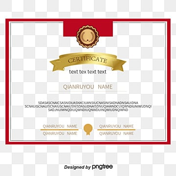 Certificate of merit png images vectors and psd files free red border certificate of merit vector material red border certificate png and vector yelopaper Gallery